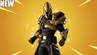FORTNITE ULTIMA KNIGHT SKIN (Challenges, Planeur, Styles, Emotes, Pickaxe)