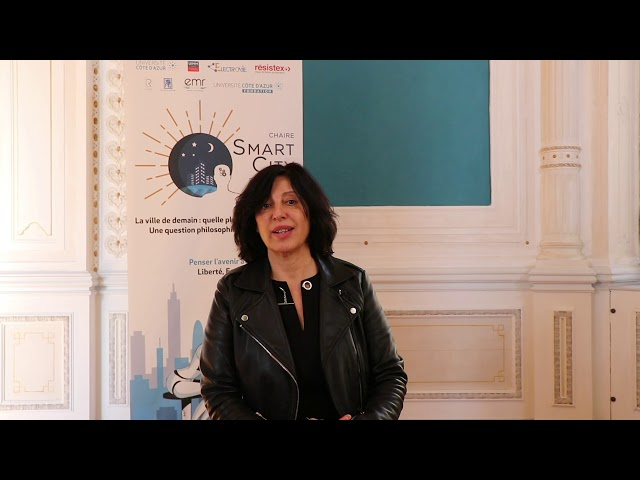 3 questions sur la Smart City - Sophie Perez