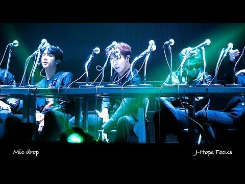 180125 서가대 방탄소년단 4K Mic Drop 제이홉 직켐 J-Hope Focus