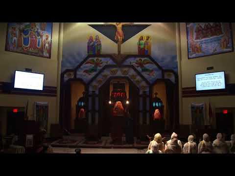 Zemari Alemayehu Ourge -2- @ Toronto St. Mary Ethiopian Orthodox Tewahedo Cathedral - Dec. 1, 2017