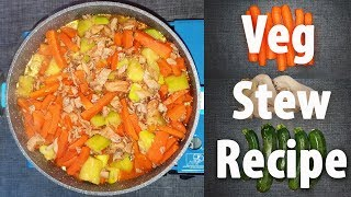 Veg Stew Recipe | Our invention | Foreigner Recipe