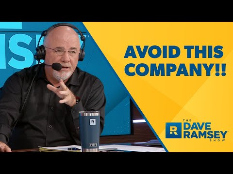 This is the SCUMMIEST Company! - Dave Ramsey Rant