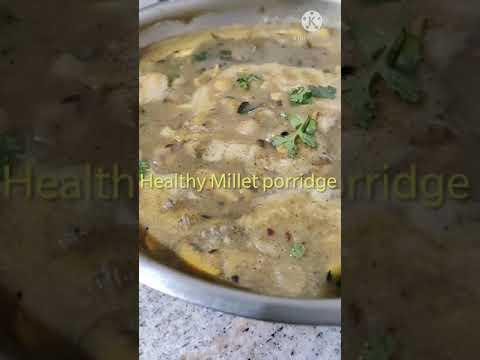 Millet porridge for weightloss! Mushroom / vegetables