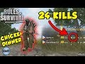 24 KILLS + CHICKEN DINNER | | TAGALOG (Rules of Survival: Battle Royale #11)