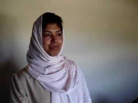 Teacher in Displaced Girls School, Kabul, Afghanistan