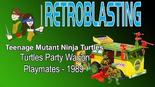 TMNT Vintage Party Wagon Van Review - Playmates Teenage Mutant Ninja Turtles