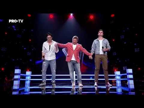 Valentin Poienariu vs. Horatiu Haiduc - Hold Back the River   Battle   Vocea Romaniei 2017