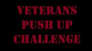 Veterans Push Up Challenge. Day 675 of 6901 for Suicide Awareness