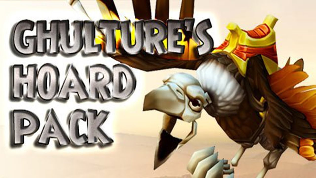 Wizard101 Ghulture's Hoard Pack Opening! Best Level 120 Gear! Ghultures  Mount, Worm Larva Pet