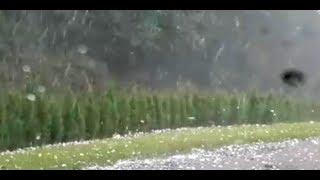 Unwetter: Gewitter und Hagel in Österreich