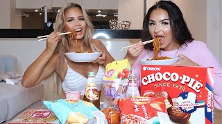 TRYING ASIAN FOOD/WOULD YOU RATHER FT. ANNA PAUL!
