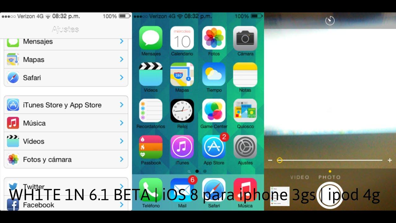 iphone 3 ios 8
