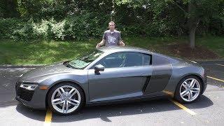 Вот почему оригинальная Audi R8 имела огромный успех