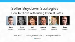 "THE SELLER BUYDOWN PLAYBOOK ""The #1 Mortgage Strategy in a Rising Interest Rate Marketplace"""