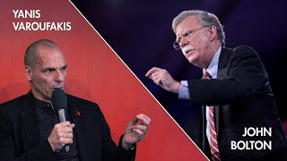 """The 2020 Holberg Debate with John Bolton & Yanis Varoufakis: """"Is Global Stability A Pipe Dream?"""""""