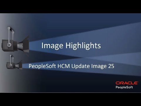 Image Highlights, PeopleSoft HCM Update Image 25