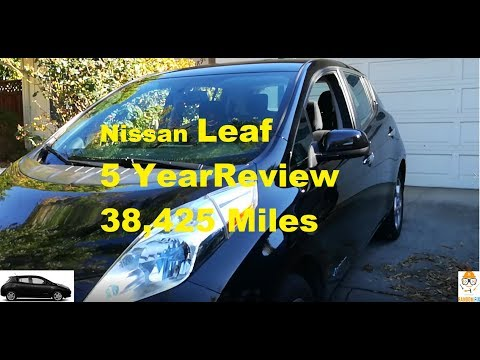 ▶️5 Year Review of 2013 Nissan Leaf After 38,425 Miles, Things to Consider