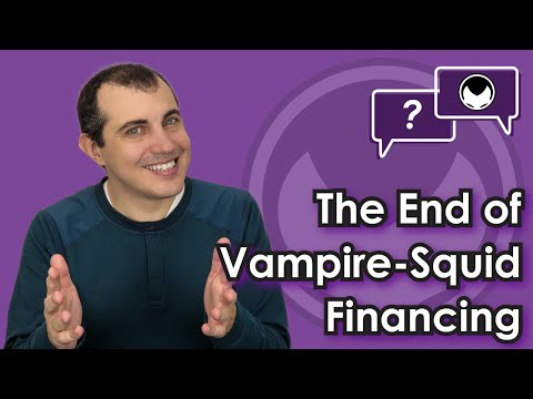 Bitcoin Q&A: The end of vampire-squid financing