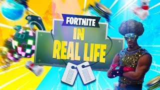 If Real Life Was Like Fortnite