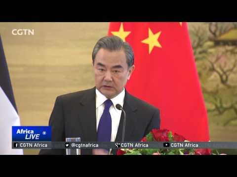 Wang reiterates China
