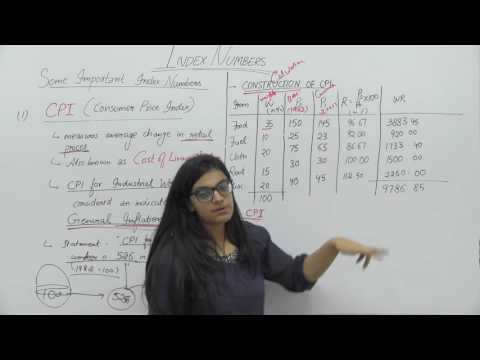 Index Numbers _ Part7 _ Consumer Price Index _ Shubhi Chhabra