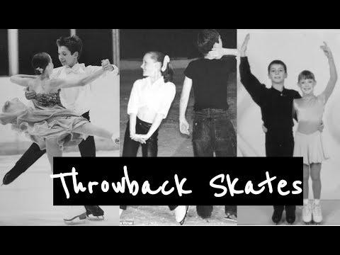 Tessa and Scott Throwback Skates- Never Grow Up
