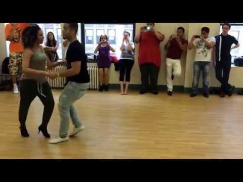 Piel Canela Begintermediate Salsa Partnerwork class taught by Jacob Lugo and Britnee Rodriguez
