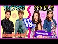 Famous Boys VS Girls Musical.ly Battle | Top Nickelodeon Stars Best Musically EVER!