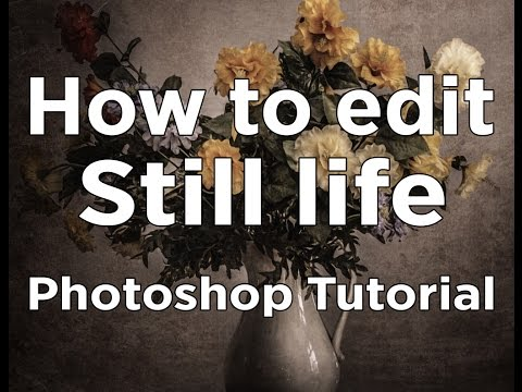 [Photoshop Tutorial] - How To Make An AMAZING Still Life