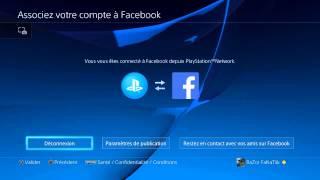 Tuto comment changer de compte Facebook sur PS4
