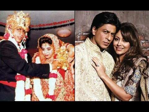 25th Wedding Anniversary Shahrukh Khan And Gauri Khans Rare Old Pictures