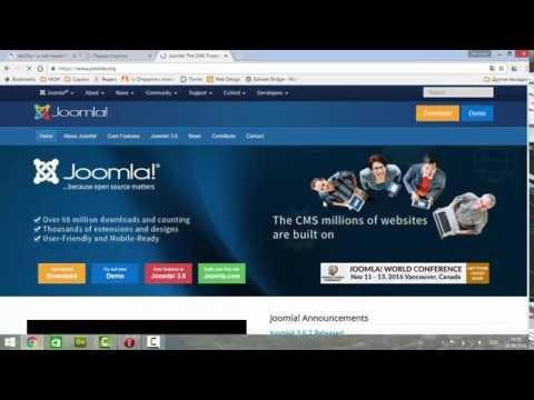 установка Joomla 3 на бесплатный хостинг