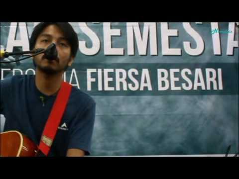 Fiersa Besari - Rumah (Live at Gramedia Pandanaran, Semarang)