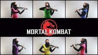 Mortal Kombat - Main Theme (Anastasia Soina violin)