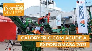 Caloryfrio.com acude a Expobiomasa 2021