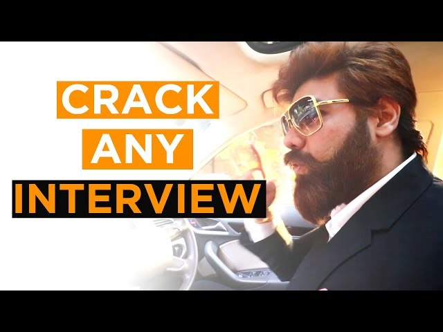 How to Crack Any Interview On this Planet | Work with Google, Apple - Greatest Tips