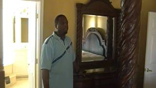 Ashley bedroom suite w/ sitting. 2250/2000