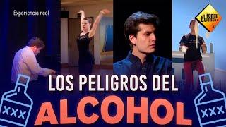 Los peligros del alcohol - Experimento social - El Hormiguero