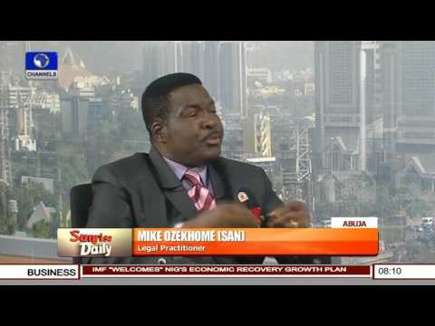 Ndume's Suspension: Senate Has The Right To Discipline Its Member -- Mike Ozekhome