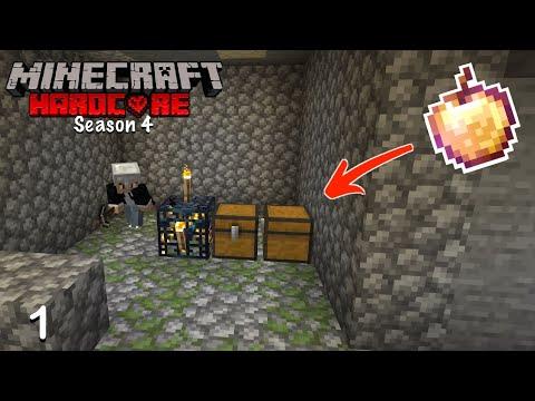 BEST WORLD EVER!? // Minecraft Hardcore S4 Ep 1