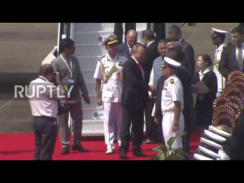 India: Putin touches down in Goa for 8th BRICS summit