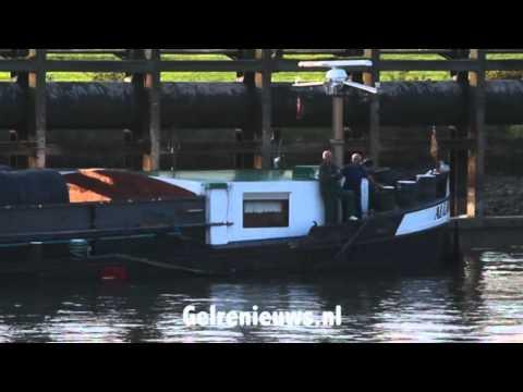 Vastgelopen schip op IJssel was te zwaar