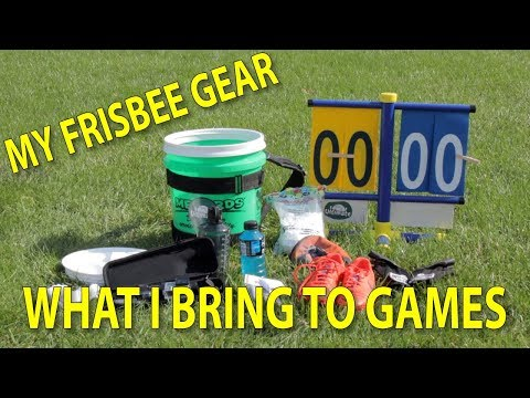 My Ultimate Frisbee Gear And What I Bring To Games