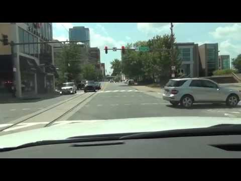 Driving in and around Little Rock, Arkansas - POV