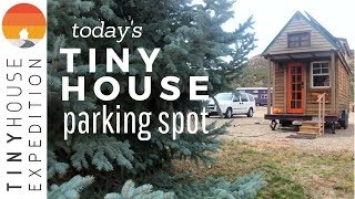 A Tiny House Community In The Land Of Enchantment | S1 E9 Today's Tiny House Parking Spot