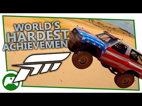 Forza Horizon 3 - World's Hardest Achievements - Land, Sea And Air