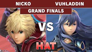 HAT 97 - Nicko (Shulk) vs Vuhladding (Lucina) Grand Finals - Smash Ultimate
