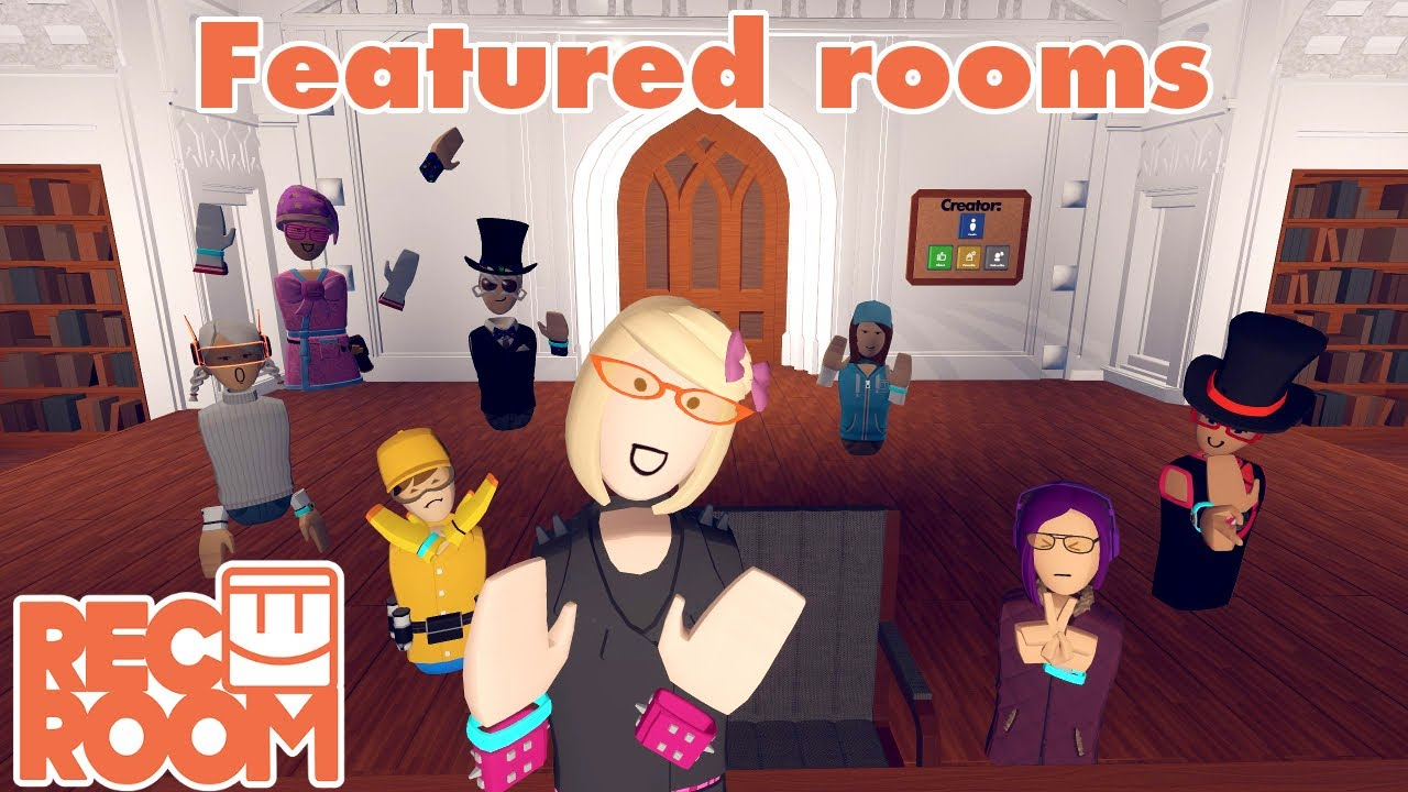 Rec Room - Featured Rooms (Community Builds) - Week of June 23rd