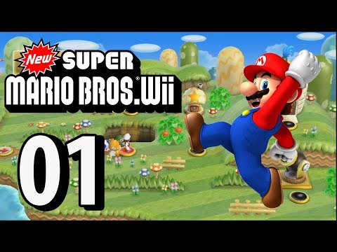 New Super Mario Bros. Wii - Part 1 (4 Player, 2018)