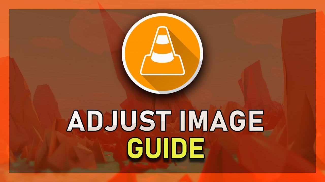 how to make vlc media player screen brightness